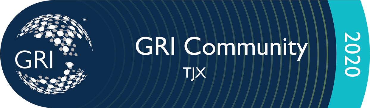 TJX is committed to the Global Reporting Initiatives (GRI)